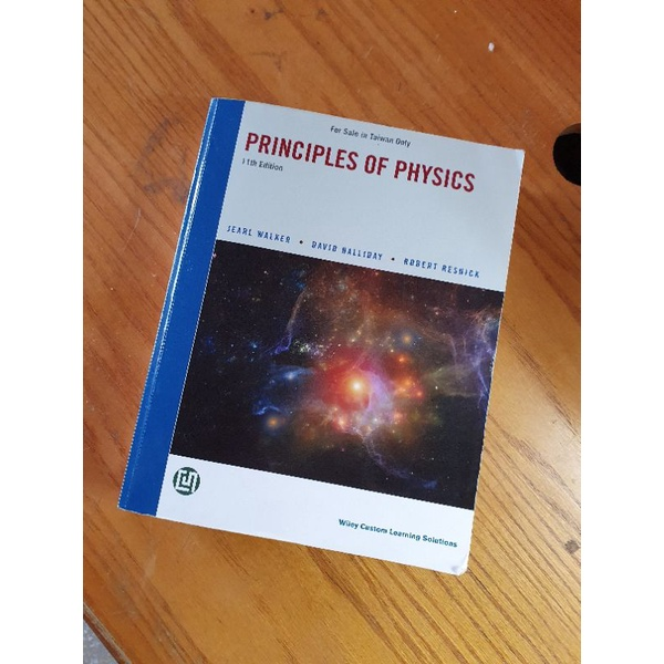 Principles of Physics 11e Halliday Resnick