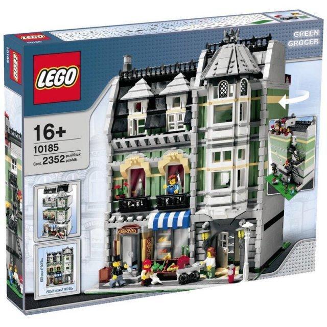 LEGO10185綠色商店街景系列
