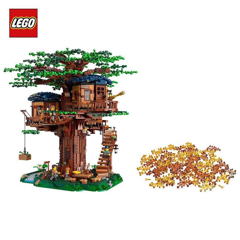 樂高樹屋櫻花21318房子別墅積木成年高難度巨大型女拼裝玩具LEGO