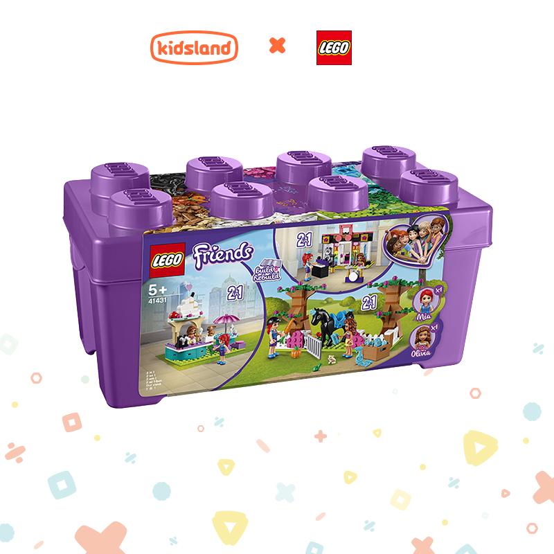 【滿天星辰】凱知樂樂高玩具LEGO好朋友心湖城積木盒41431小顆粒積木兒童拼插