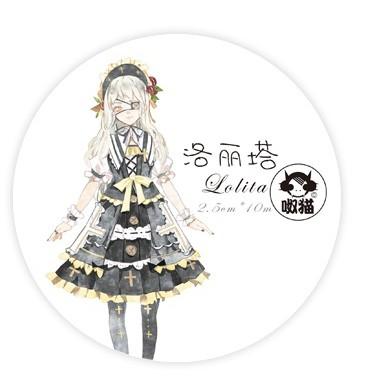 【mimi】Lolita/循環分裝/人物/紙膠帶分裝/紙膠帶 分裝/呶貓/人物分裝
