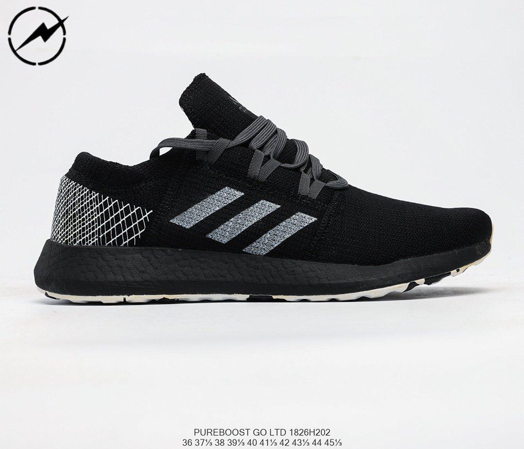 Adidas Pureboost Go W 愛迪達全掌爆米花針織透氣跑鞋06
