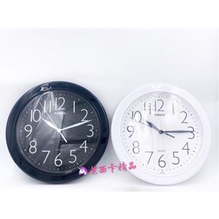 🦄潔西卡精品-日本 卡西歐 CASIO IQ-01S 白色 圓形 掛鐘 白底黑字  、黑底白字數字清晰 原裝公司貨 臺北市