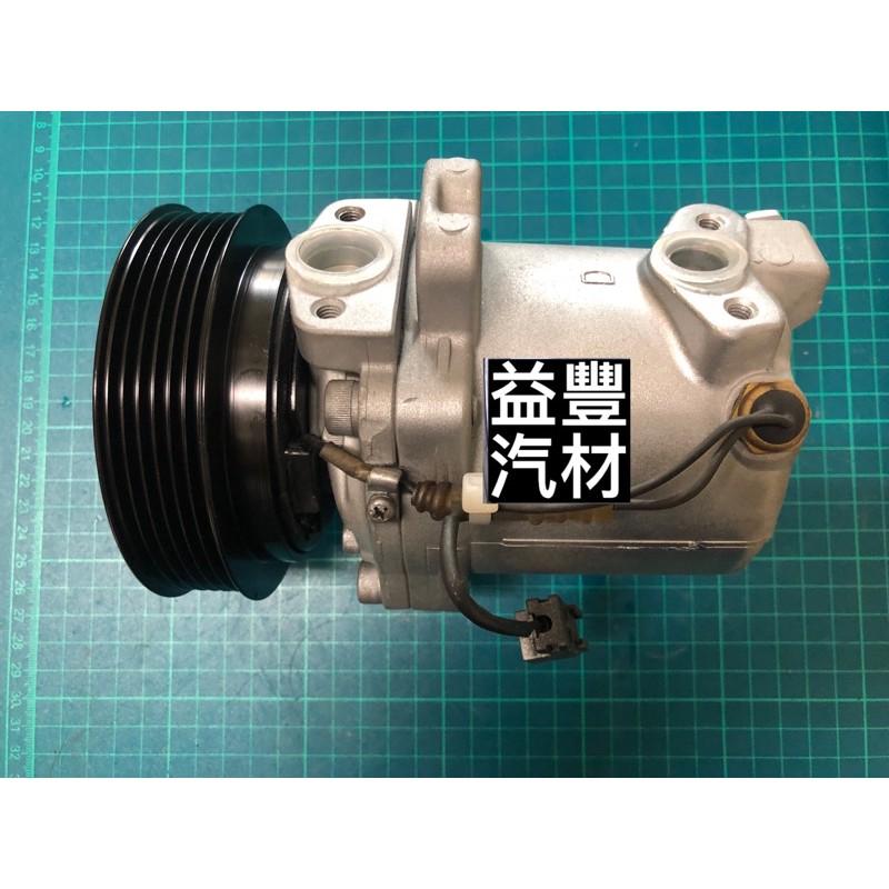 NISSAN 日產裕隆 March 馬曲 VERITA 98-00年 汽車冷氣壓縮機 (整理新品)