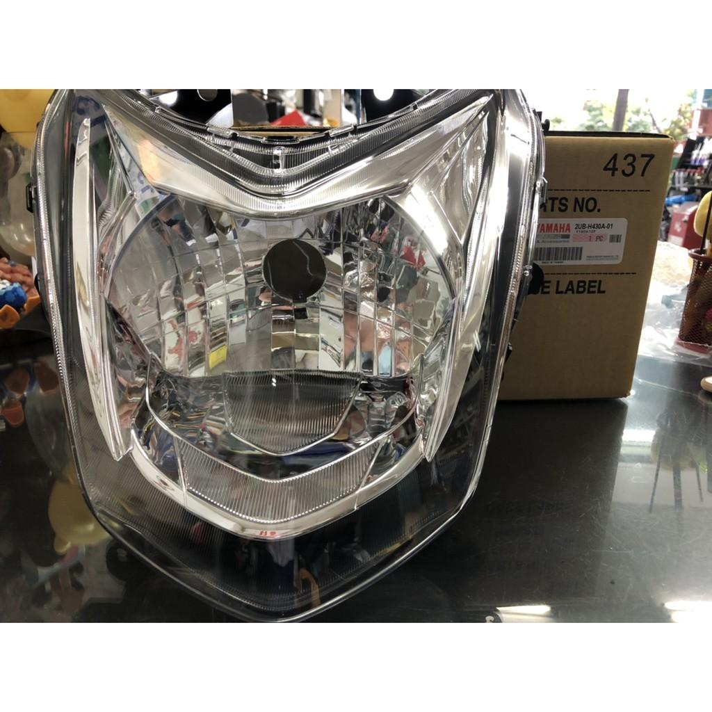 俗俗賣YAMAHA山葉原廠 前燈單元 4代 四代 新勁戰 雙碟 大燈組 大燈 前燈組 料號:2UB-H430A-01