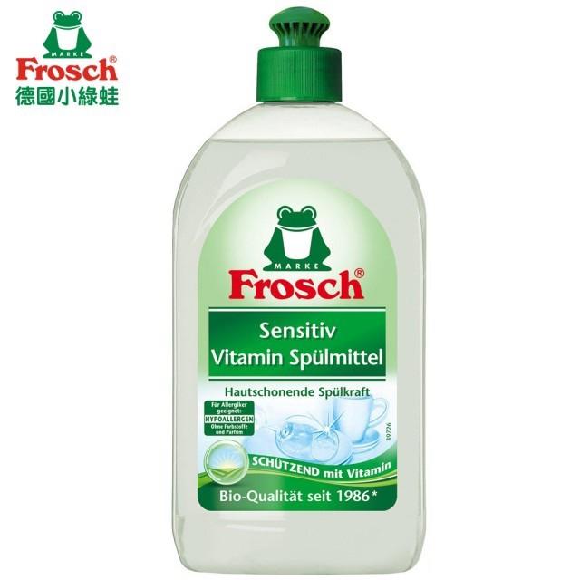 德國 Frosch 檸檬清香 蘆薈護手 洗碗精 500ml 護手洗碗精 檸檬洗碗精 護手洗碗精 小綠蛙 德國小綠蛙
