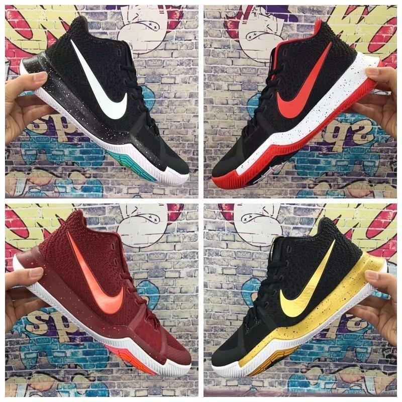 新歐文3代男子籃球鞋 Kyrie 3 全明星 戰靴 低幫 運動鞋 852396