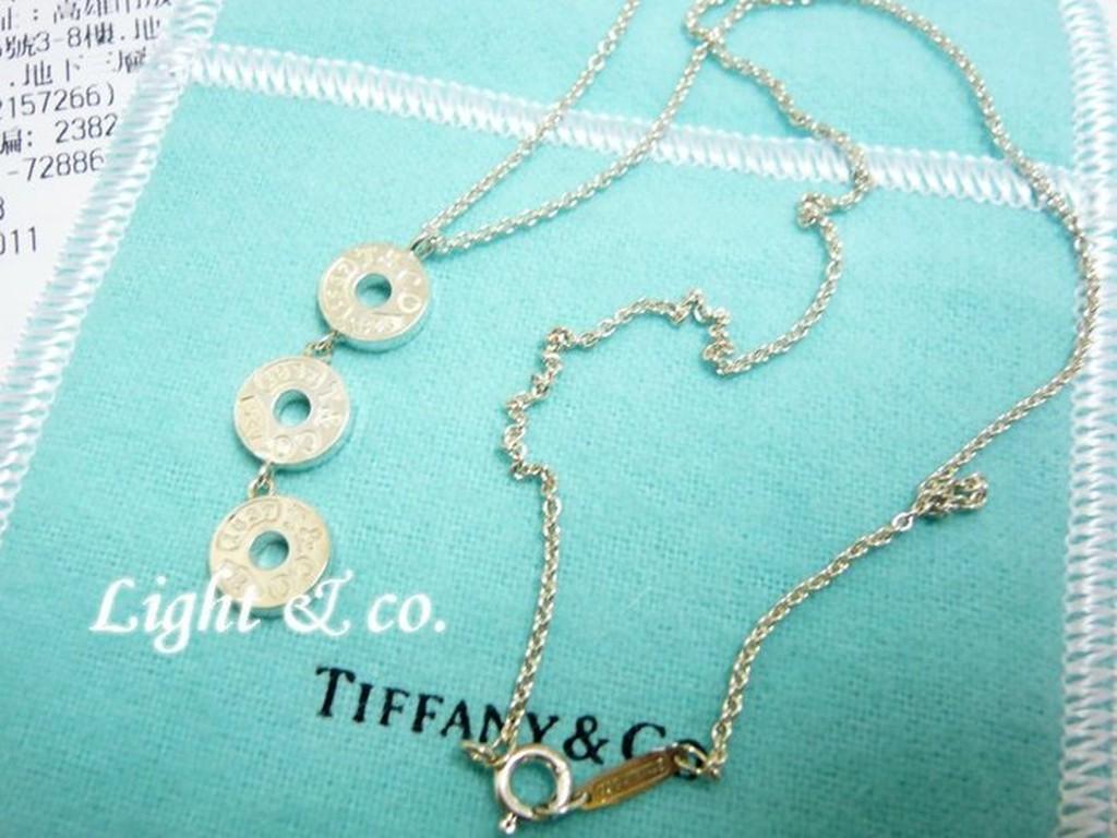 【Light & co.】專櫃真品 TIFFANY & CO 925純銀 雙1837 戒指 三環戒 三圈 項鍊