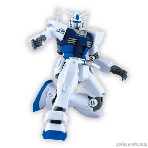 東京奧運 日本製造 鋼彈模型1/144 藍色 奧運紀念款 東奧 紀念品週邊官方商品 預估商品到貨需3週