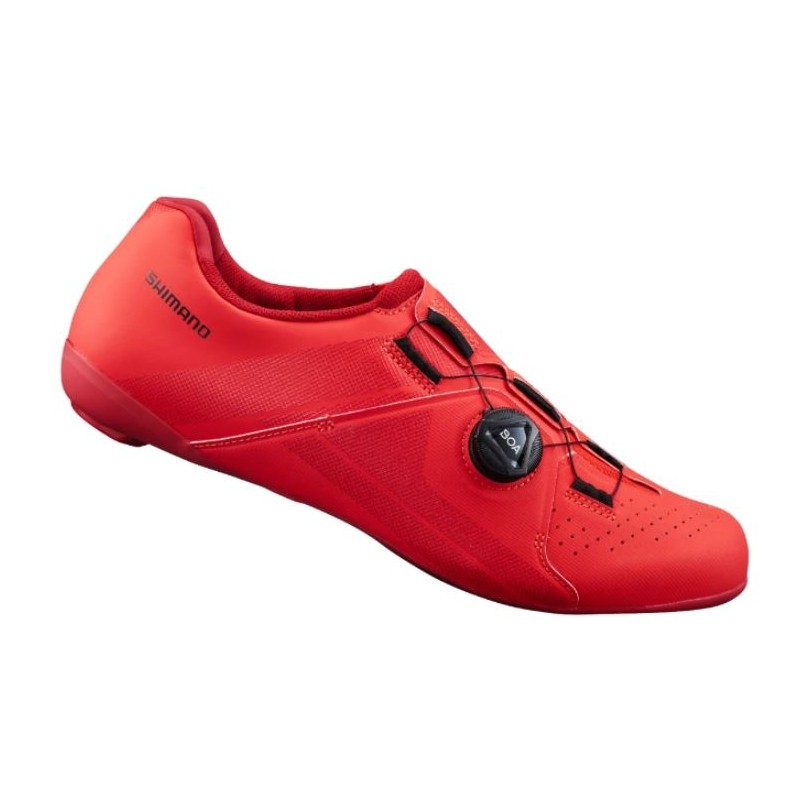 SHIMANO RC3 男性基本款公路車卡鞋(紅)【7號公園自行車】