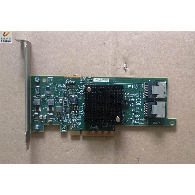 議價 Lsi Sas9207-8I 6gb Pci-E3.0 Hba 卡擴展卡 Sas 卡物理圖 `Bargaining