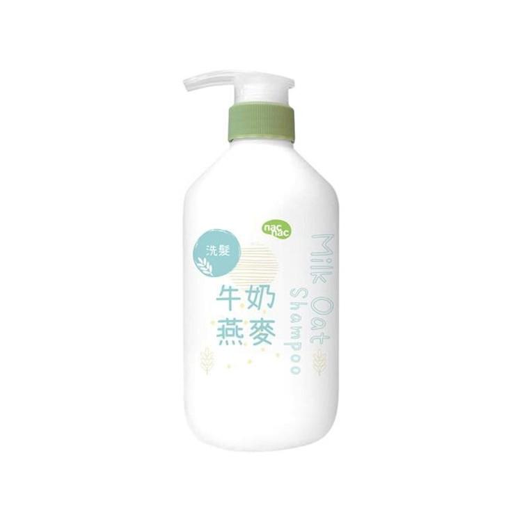 台灣 nac nac 牛奶燕麥潤洗髮乳680ml