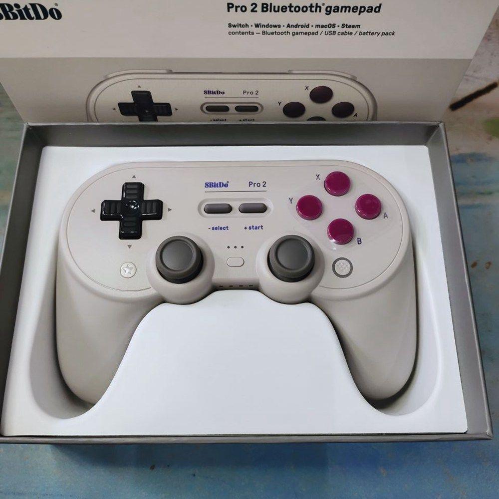 【台灣現貨】遊戲手把八位堂Pro2藍牙游戲手柄8BitDo精英無線NS Switch/Lite游戲機體感