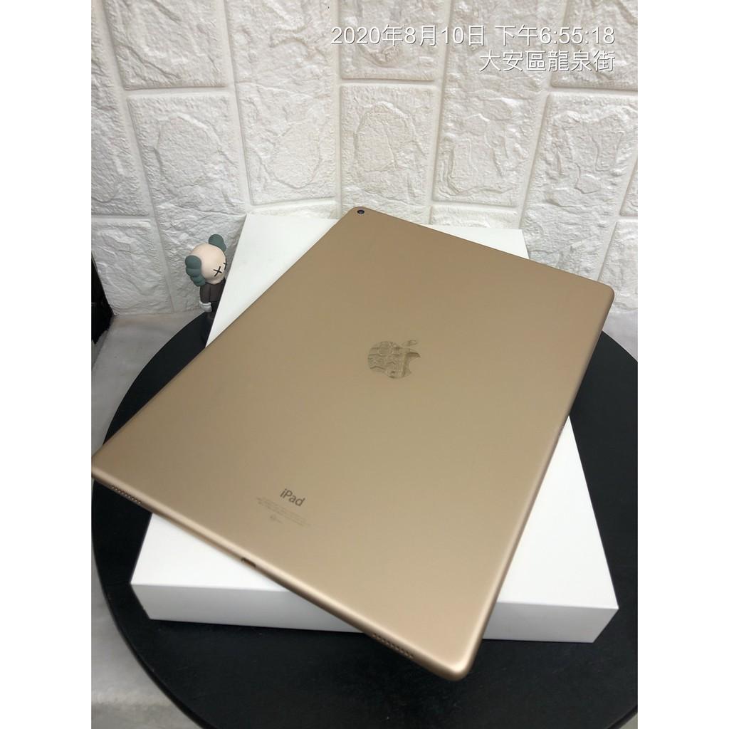 【可面交】二手 Apple iPad Pro 金 128G 螢幕12.9吋 空機 現貨 台中 台北 實體店 L824
