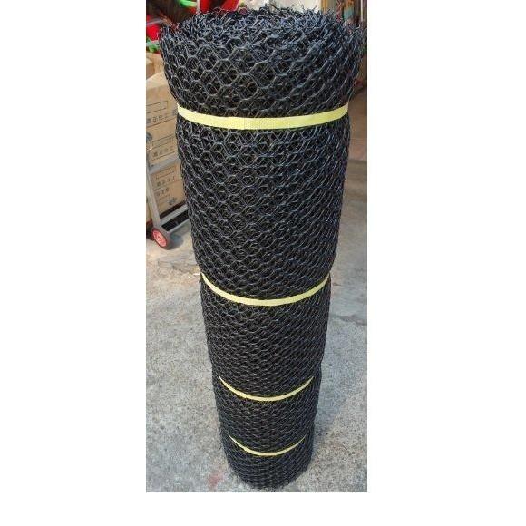 萬能網 塑膠網 圍籬網 黑 5尺*100尺 大洞