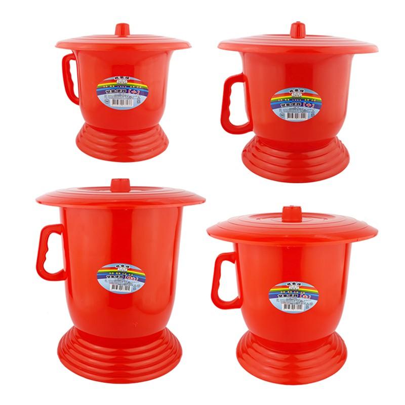 雙象牌 便器(小/中/大/特大) 尿壺尿桶 學習便器 財庫 塑膠尿壺 塑膠尿桶 傳統尿壺 便桶 傳統便器 老人尿桶