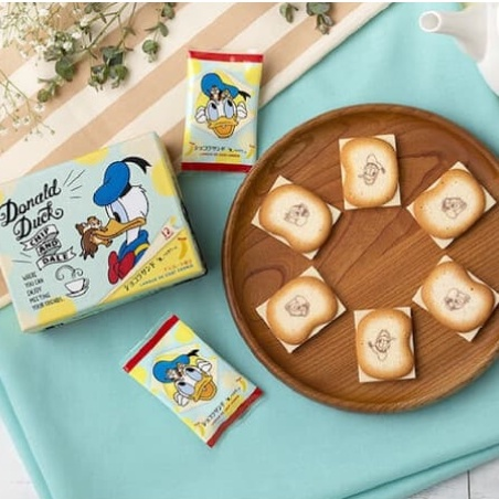 預+現 - 日本東京芭娜娜 迪士尼 唐老鴨 奇奇蒂蒂 巧克力夾心餅乾 日本伴手禮 東京banana ¦ 菠蘿麵包選物店
