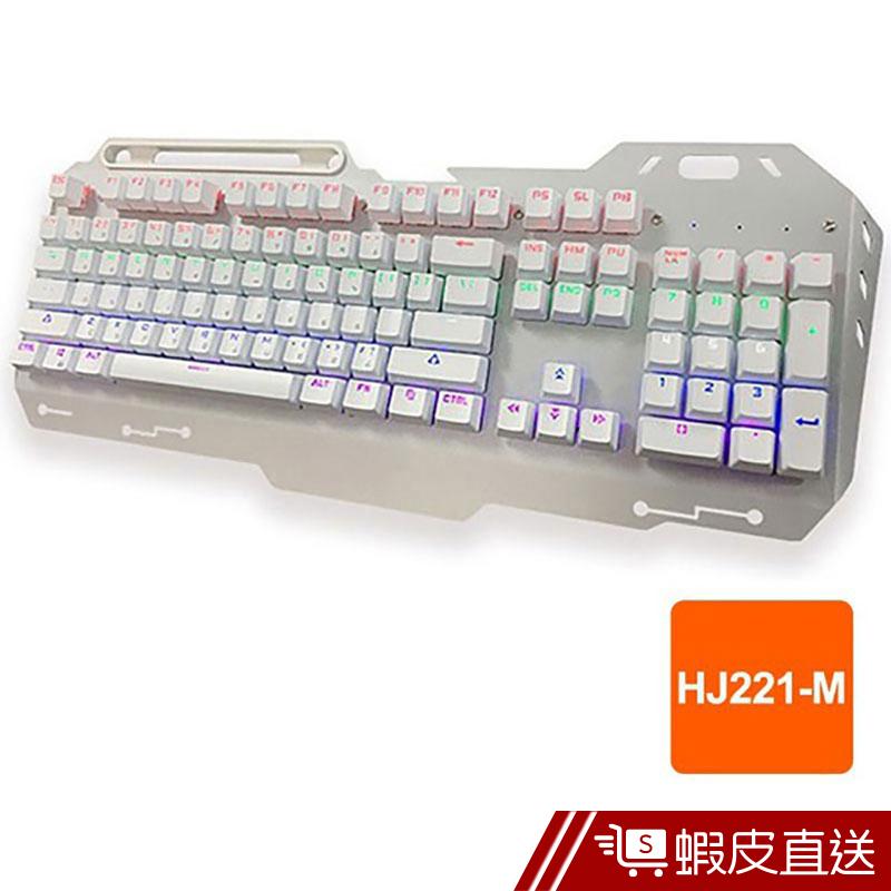 宏晉 聖堂武士 HJ221-M青軸機械式鍵盤 懸浮鍵盤 電競鍵盤 USB RGB 注音