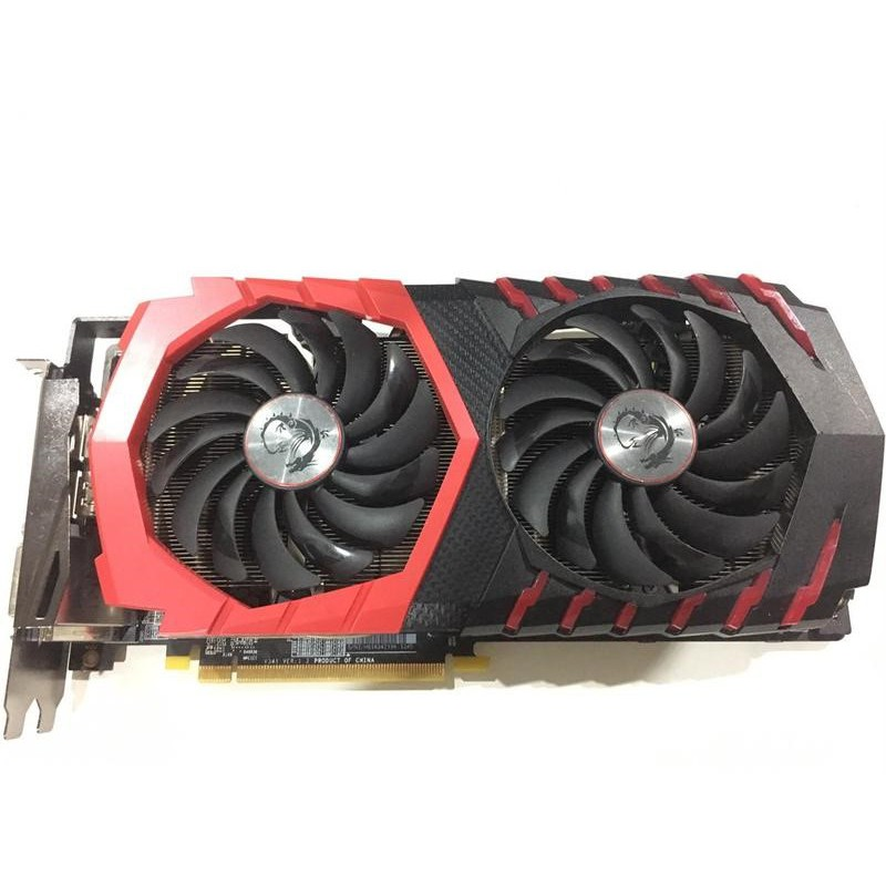 紅龍 微星 MSI GeForce GTX 1060 6G GAMING x plus  三星顆粒