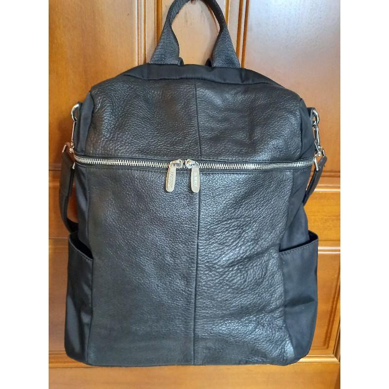 全新 BONNIE 真皮 手提 側背 後背包