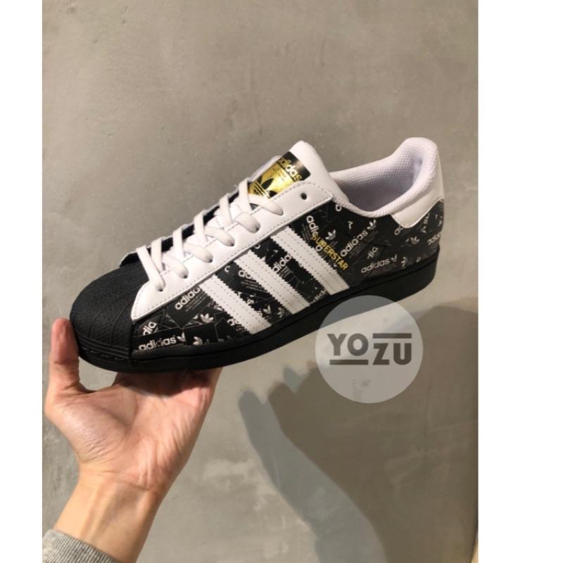 ⭐️YOZU ⭐️ADIDAS superstar 男鞋 滿版LOGO FV2820