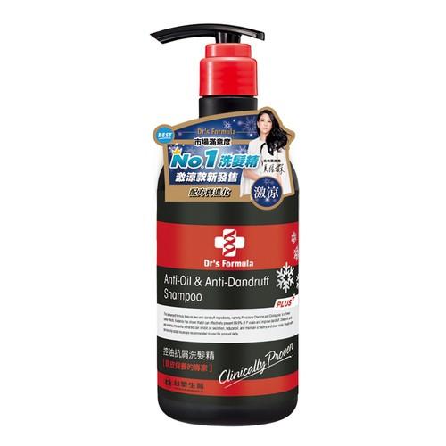 台塑生醫Dr's Formula控油抗屑洗髮精激涼款580g