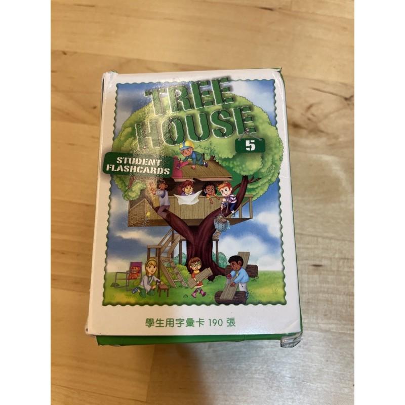 何嘉仁 Tree House 5 字卡
