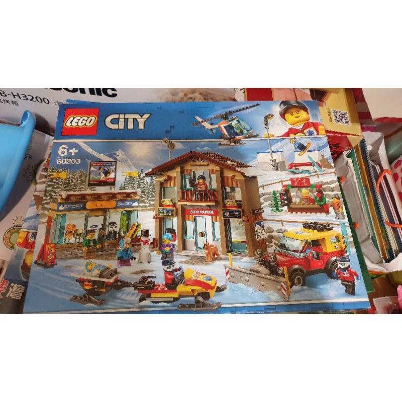 樂高積木滑雪場 60203 LEGO CITY 6+