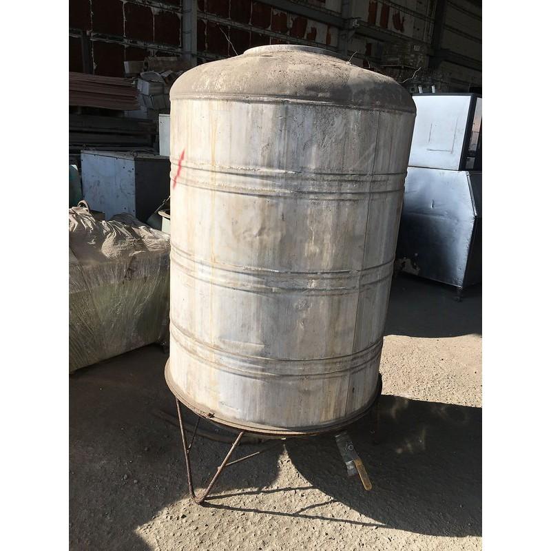 [龍宗清] 白鐵水塔(鐵腳架) (17122203-0006) 1T 1000L ST水塔 不銹鋼水塔 不鏽鋼水塔 立式