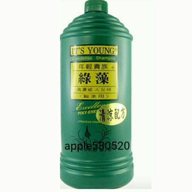 年輕貴族綠藻洗髮精2000ml