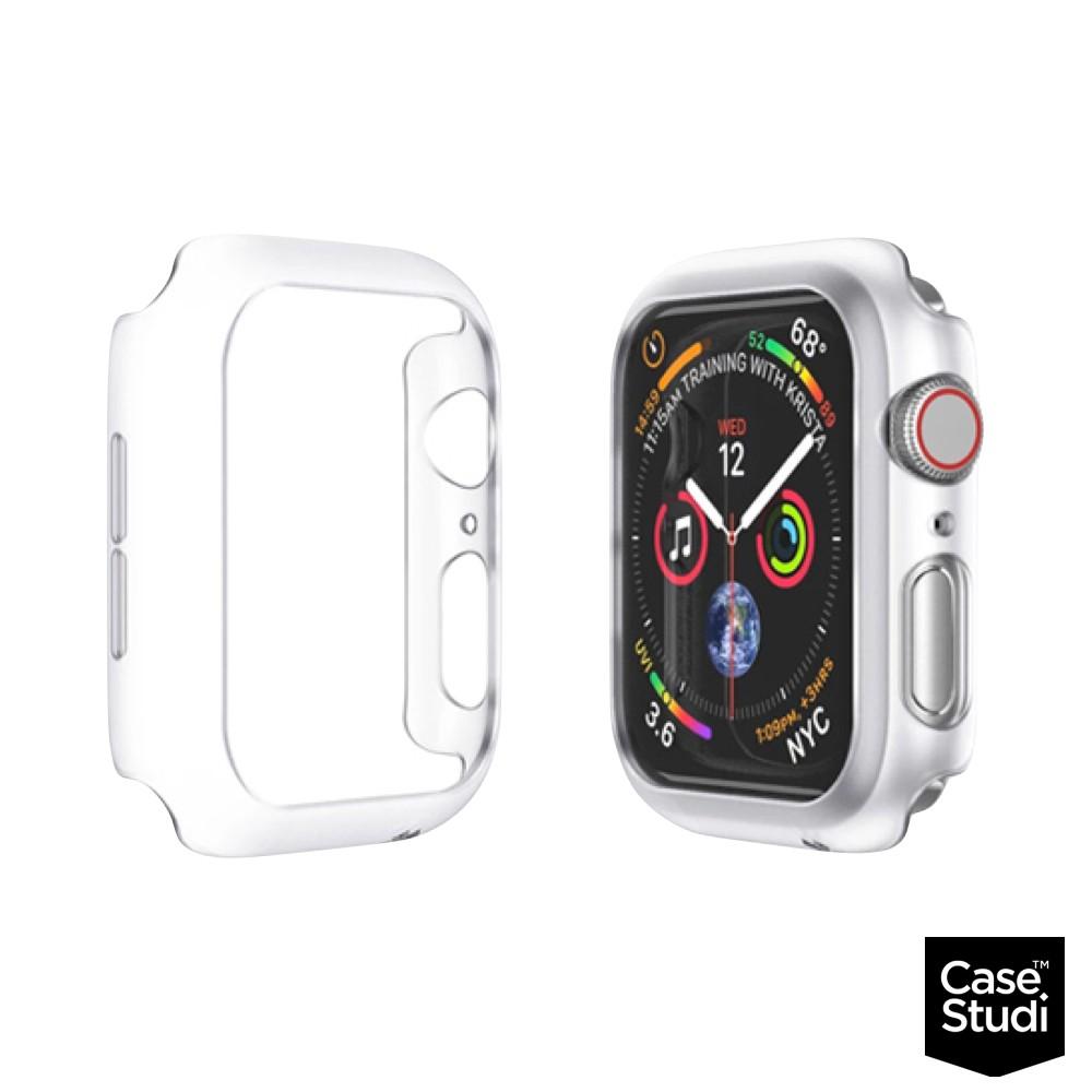 CaseStudi Apple Watch 44mm Series4/5/6/SE Explorer保護殼霧透白廠商直送