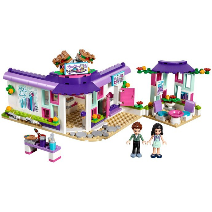 >>全新無盒 <<高雄好時光 Lego 樂高 friends 好朋友系列 艾瑪的藝術咖啡廳 41336