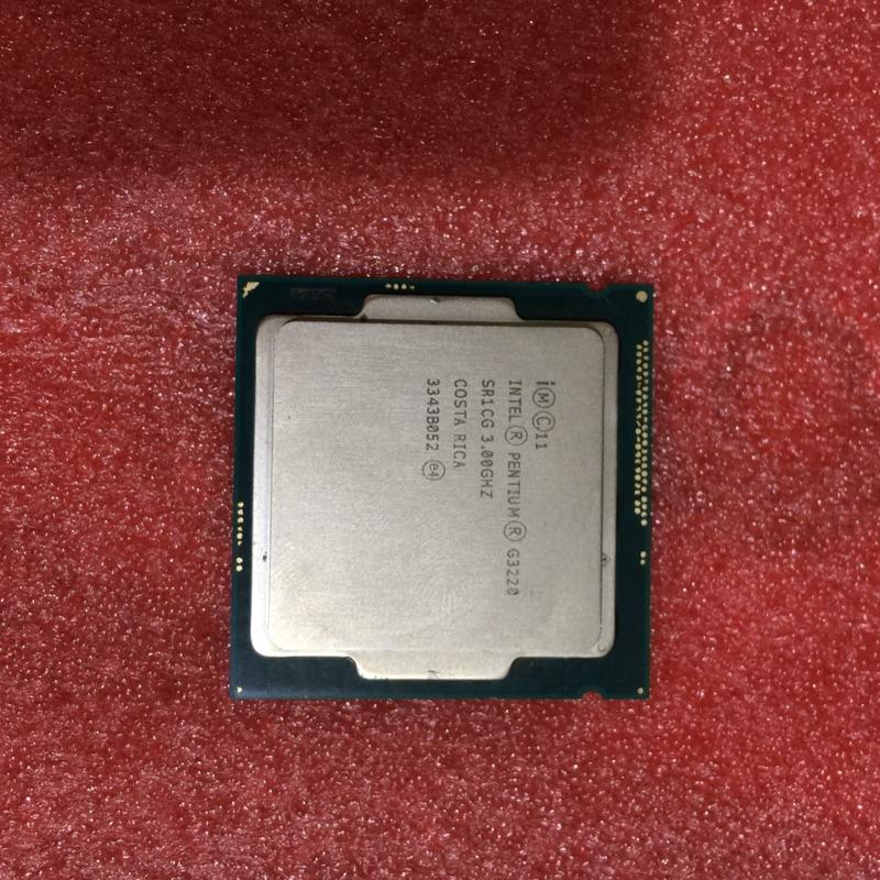 Intel I3 G3220 散片 挖礦主機板用 1150針 專用CPU