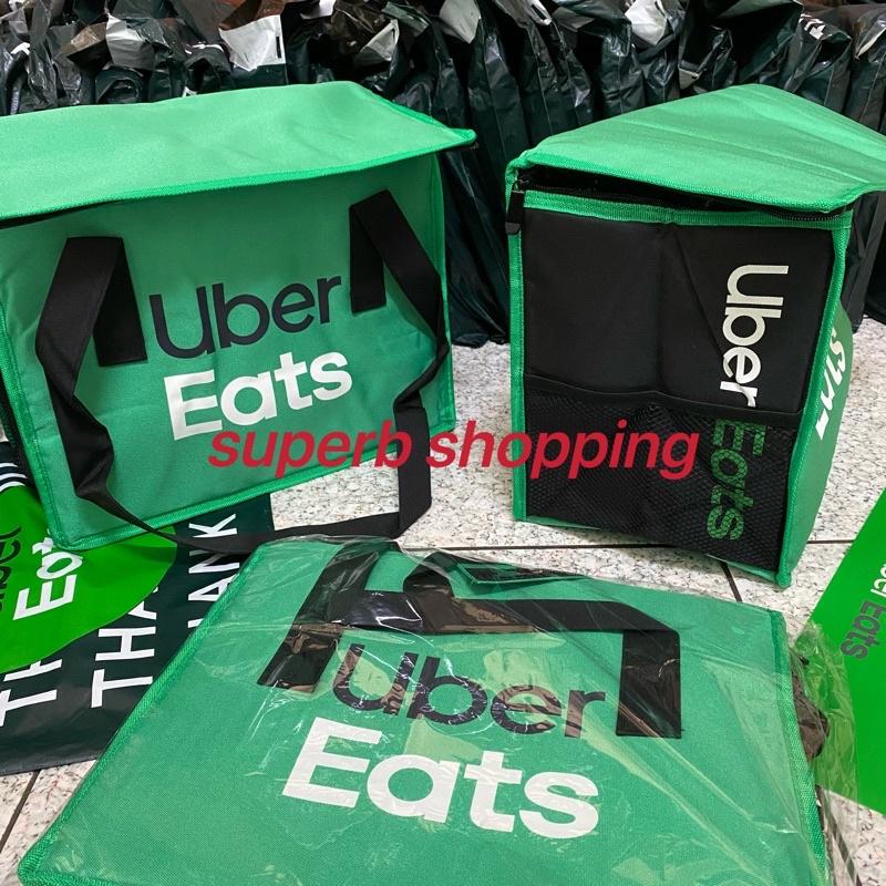 [全新現貨]Uber eats 綠色小包 外送袋 官方正版 正版 美國公司貨 ubereats 提袋 小包 保溫袋