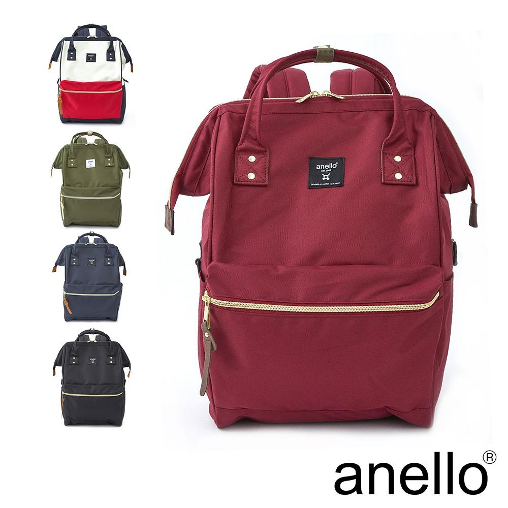 anello 新版基本款2代R系列~經典口金後背包 Regular size(ATB0193R)~防潑水強化
