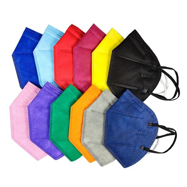 KN95立體口罩-10入/KN95標準一般一次性衛生口罩/防空汙口罩工作口罩/成人口罩/贈品禮品