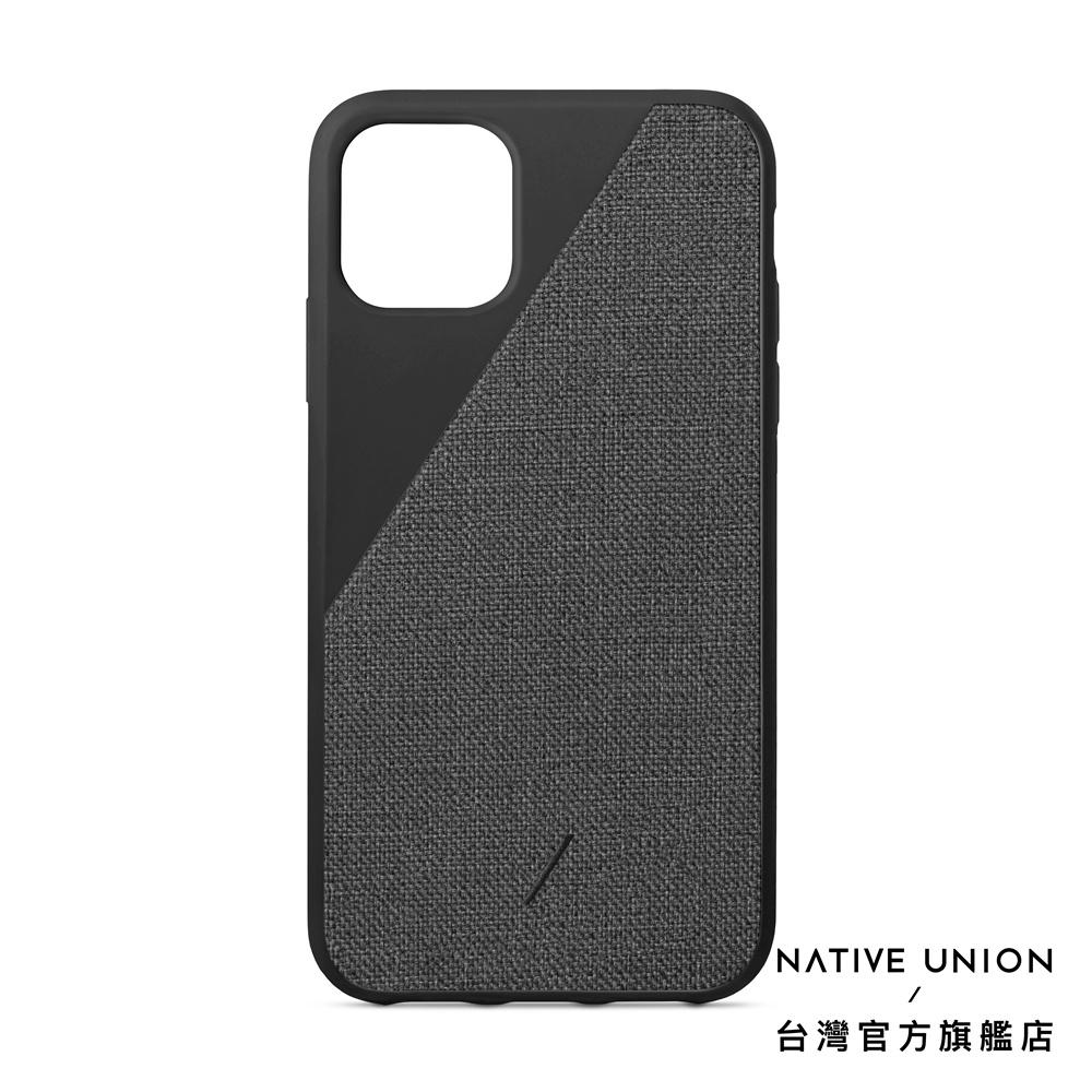 【NATIVE UNION】iPhone 11系列 CLIC 織布手機殼 正黑