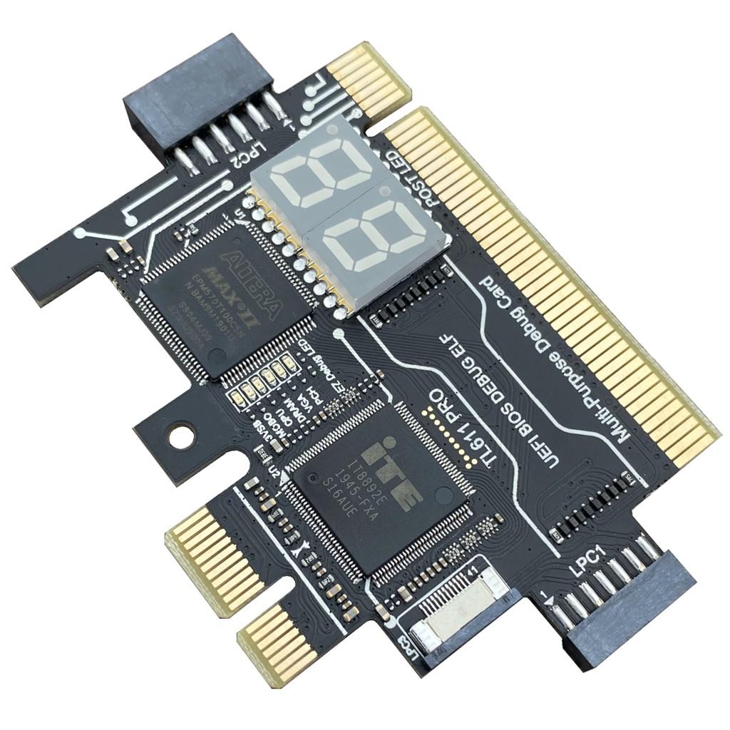 【冠丞3C】TL611 PRO PCI PCI-E LPC 除錯卡 診斷卡 檢測卡 GC-0183
