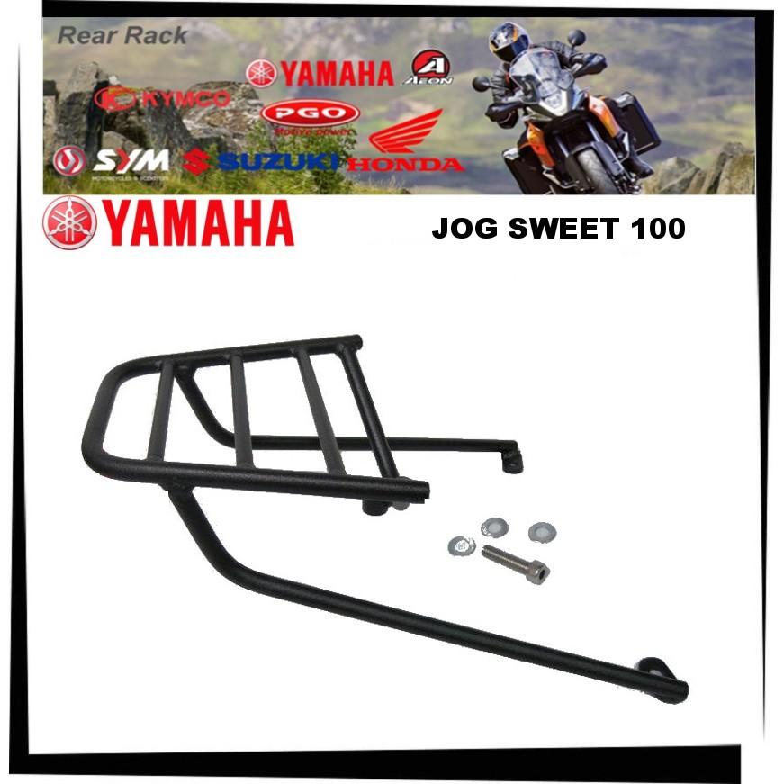 【TL機車雜貨店】YAMAHA 山葉JOG SWEET 100 真水100 後架 後鐵架 後箱架 漢堡架 後置物箱架