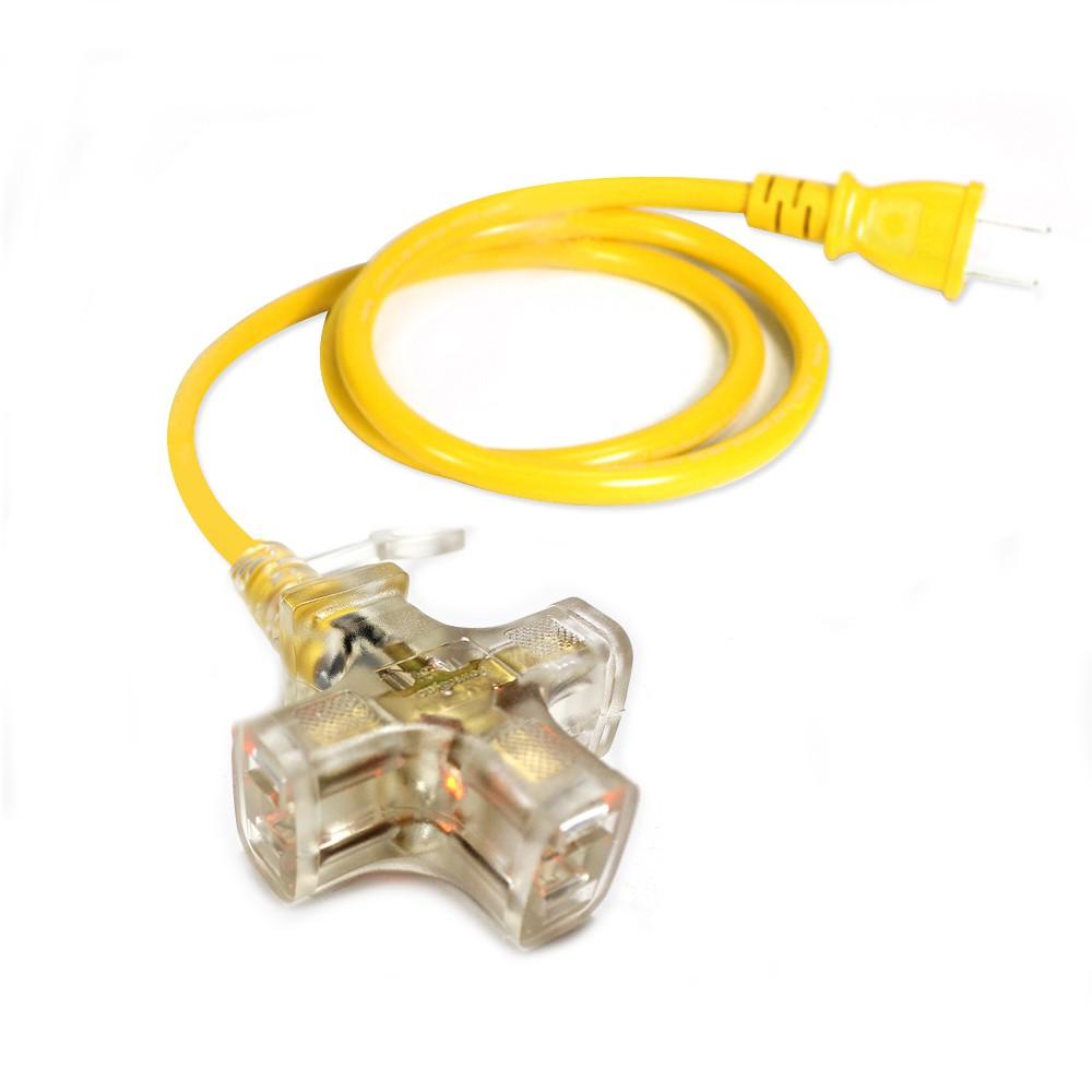 群加 PowerSync 2P帶燈動力延長線動力線台灣製9M~43M(PW-G2PL394)