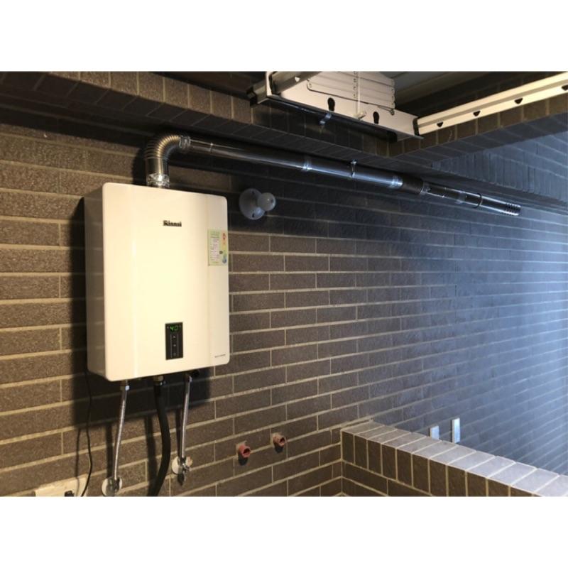 新竹 林內 RUA-C 1600 WF 數位恆溫 16公升 強制排氣 熱水器