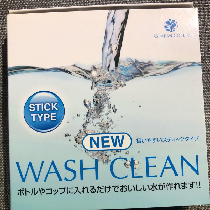現貨🌟日本人氣商品🌟WASH CLEAN 光伸淨水器 電氣石 電光石 水妙精 淨水棒 濾水器 水空氣
