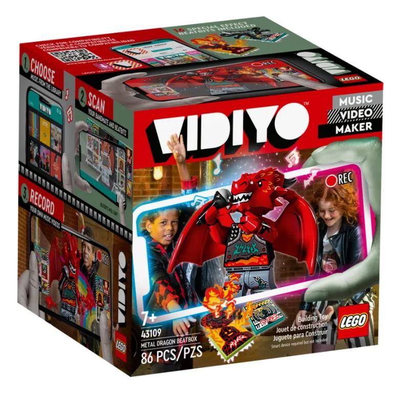 樂高 LEGO 43109 Metal Dragon BeatBox