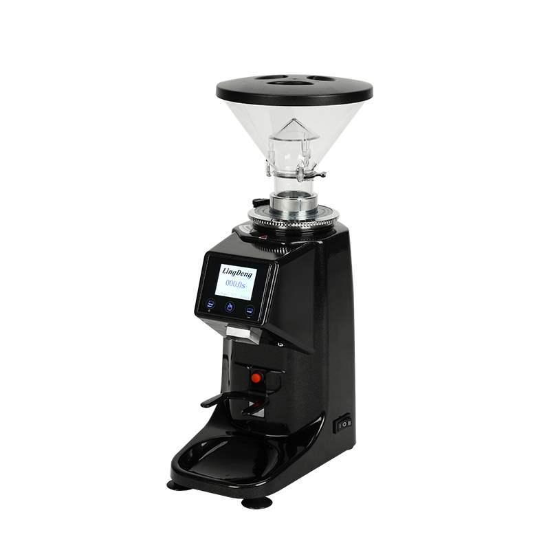 研磨機咖啡館可選意式電控定量磨豆機專業商用電動磨粉機家用110v Yankey特賣