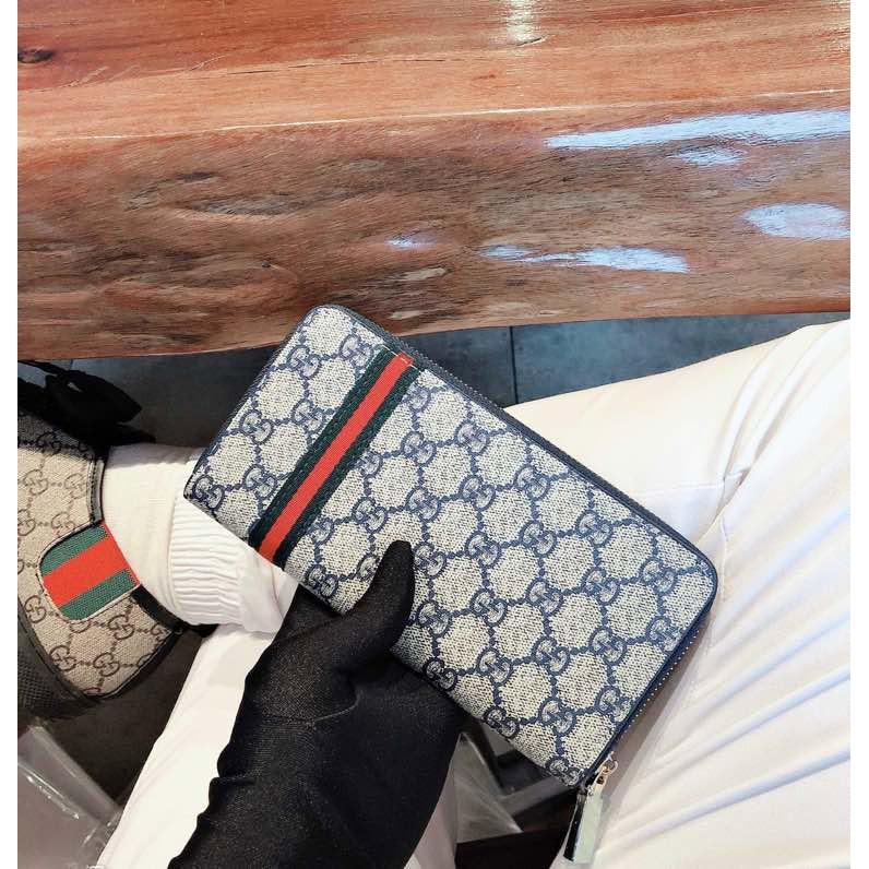 Gucci 皮夾 古馳錢包 長夾 男包包 手拿包 相片夾 拉鏈包 gucci皮夾 男用長夾 多卡位錢夾 卡夾