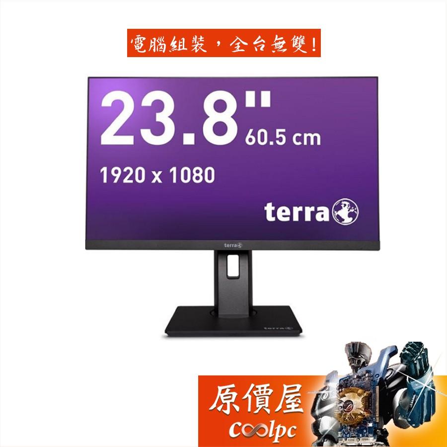 Terra 2463W PV 23.8吋/1H1P/5ms/IPS/含喇叭/德國品質/五年保固/螢幕/原價屋