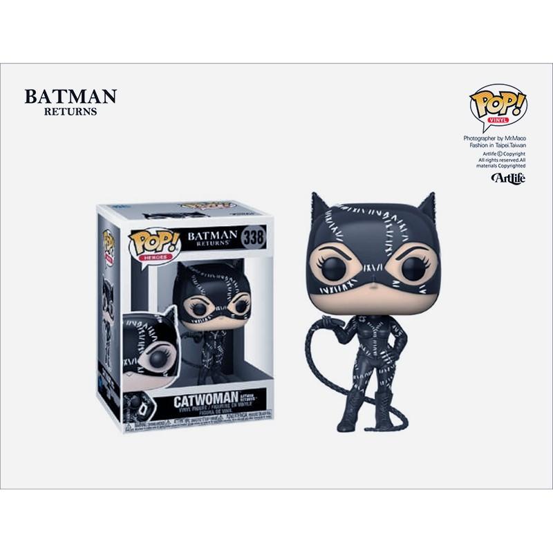 Artlife ㊁ FUNKO POP DC COMICS BATMAN 經典系列 蝙蝠俠 貓女