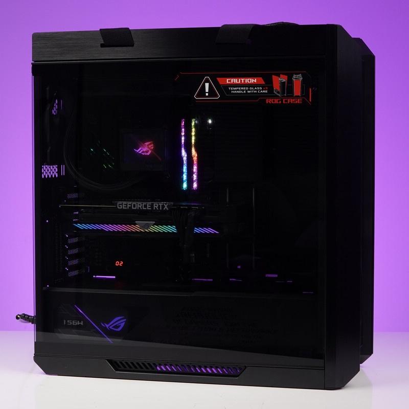 【台灣 現貨】原味ROG全家桶AMD RYZEN 9 5900X RTX3080TI水冷電腦遊戲主機