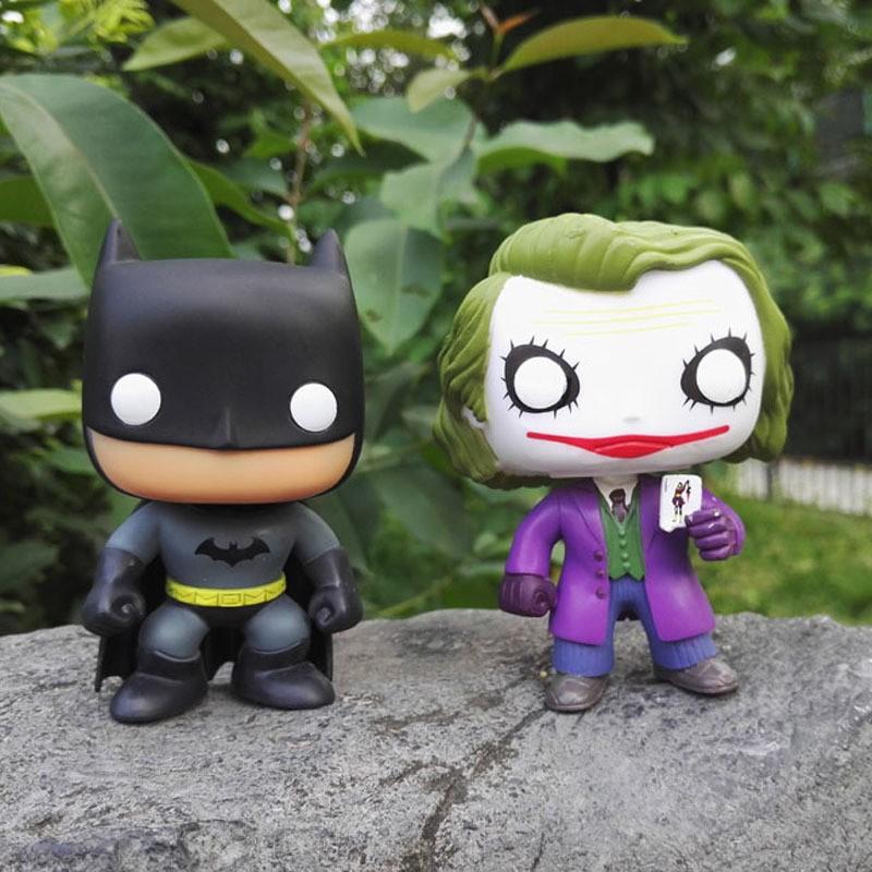 動漫funko POP 蝙蝠俠黑暗騎Batman01 小丑手辦模型玩具