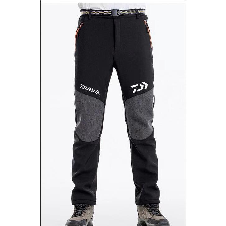 2020年新款Daiwa運動褲DAIWA釣魚褲保暖防風防寒巖石釣魚海釣褲速乾